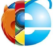 IE vs Chrome VS FF